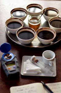 Cupping table of a day